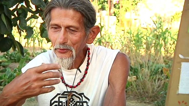 Roy Littlesun, indio hopi y alquimista nutricional.