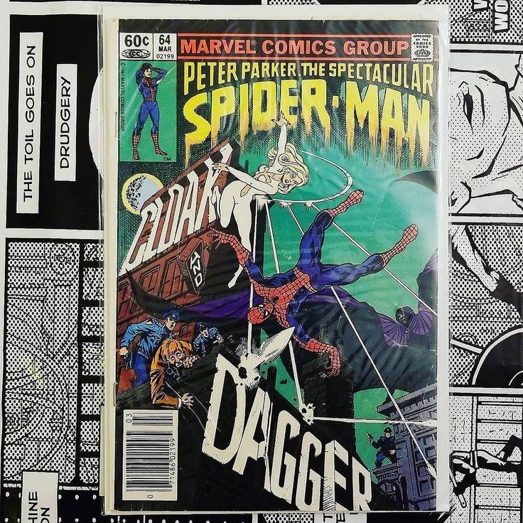 For sale: Spectacular Spider man 64 - First appearance of Cloak and Dagger - 40 shipped #batman #dccomics #dc #keycomics #rare #comicbooks #collector #forsale #joker #harleyquinn #marvel #marvelcomics #thor #justiceleague #superman #spiderman #wonderwoman #wolverine #deadpool