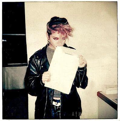 Pud Whacker's Madonna Scrapbook