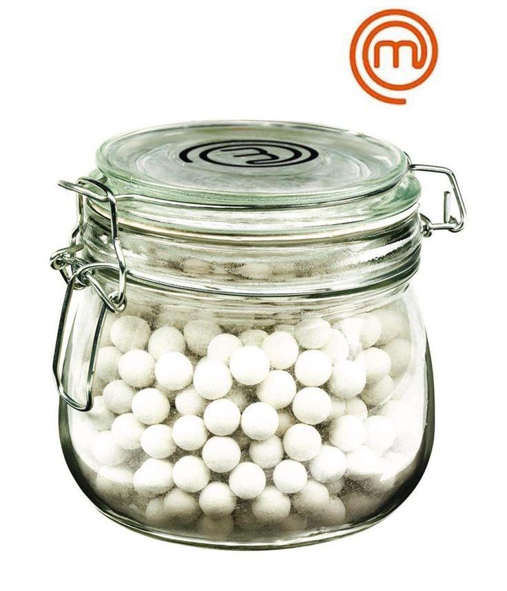 MASTERCHEF CERAMIC PIE WEIGHTS 600gm Pastry Blind Baking Beads GLASS JAR