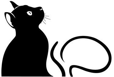 Vinilo para portátil gato observando