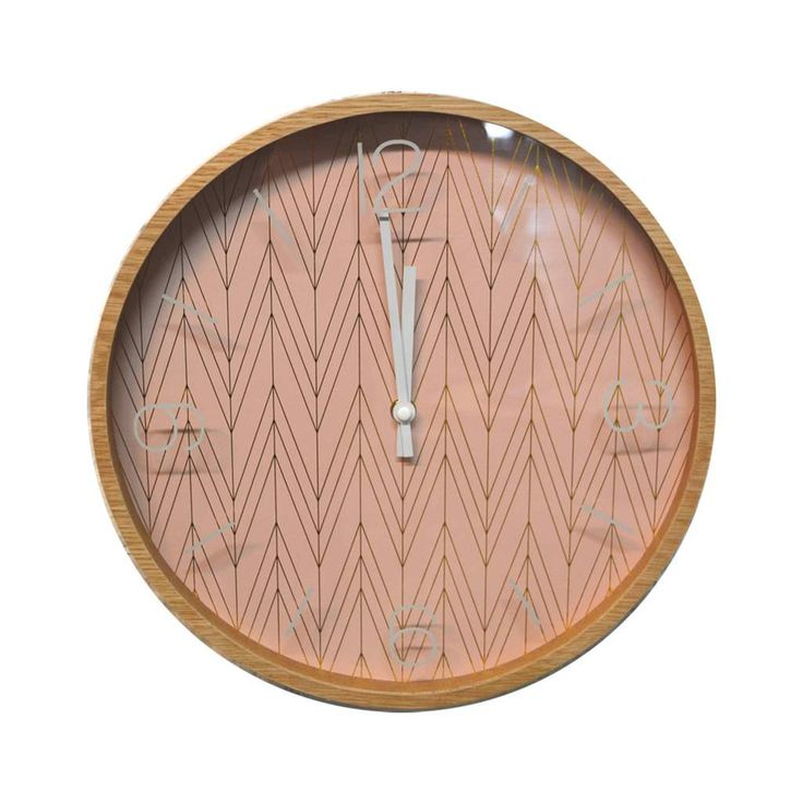 horloge scandinave rose