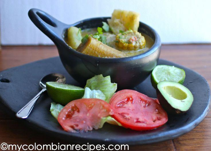 Sancocho de Pescado con Coco (Coconut and Fish Soup)-My Colombian Recipes