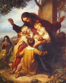 jesus teaching the children classical - Google Search
