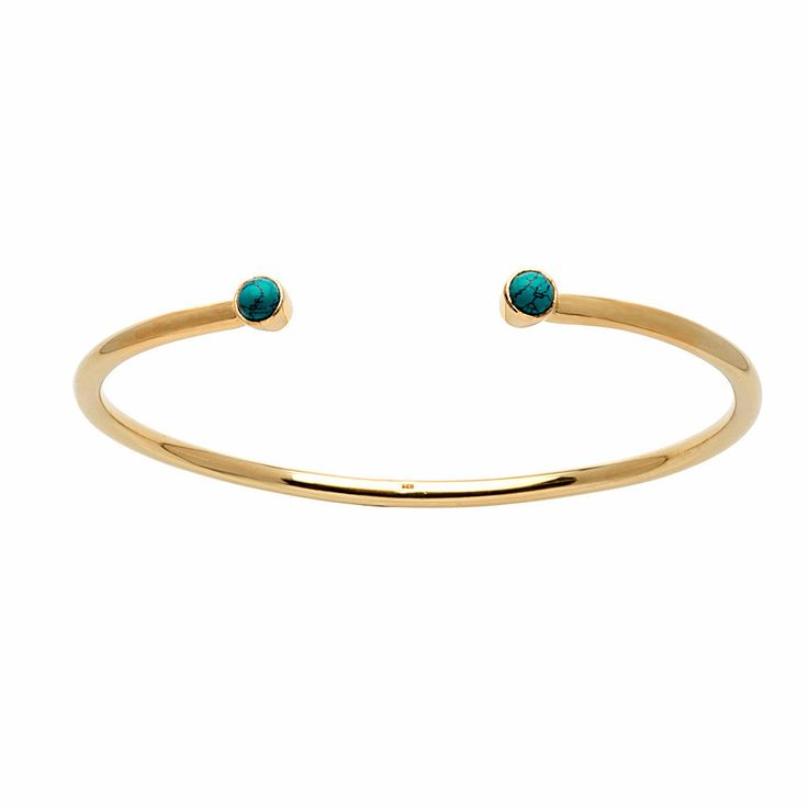 Rhea Bangle / Turquoise from D A M S E L F L Y