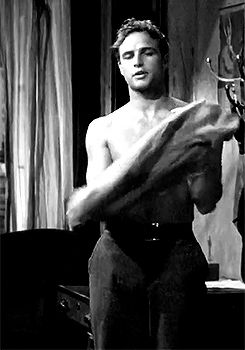 Marlon Brando as Stanley Kowalski in A Streetcar Named Desire (1951)