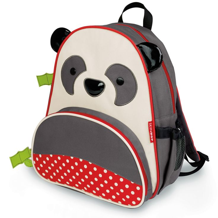 Skip*Hop panda preschool backpack: Skiphop, Lunches Bags, Hop Zoos, Zoos Packs, Skip Hop, Pandas Backpacks, Hop Skip Backpacks Pandas, Preschool Backpacks, Kids Backpacks
