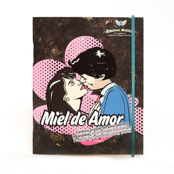 LIBRETA DE CHIRRIS MIEL DE AMOR