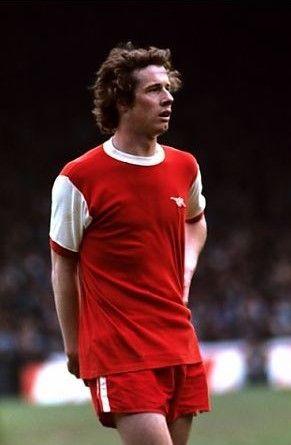 Liam Brady Arsenal 1977