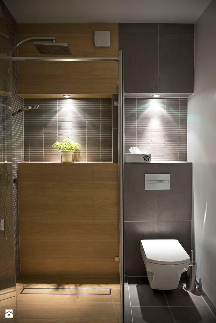 Bali is my next stop. - Mała łazienka w bloku bez okna, styl nowoczesny - zdjęcie od SHOKO.design