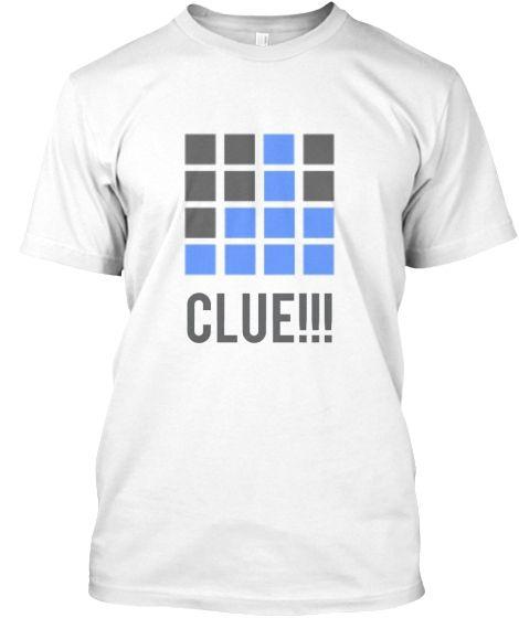 Clue t-shirt design