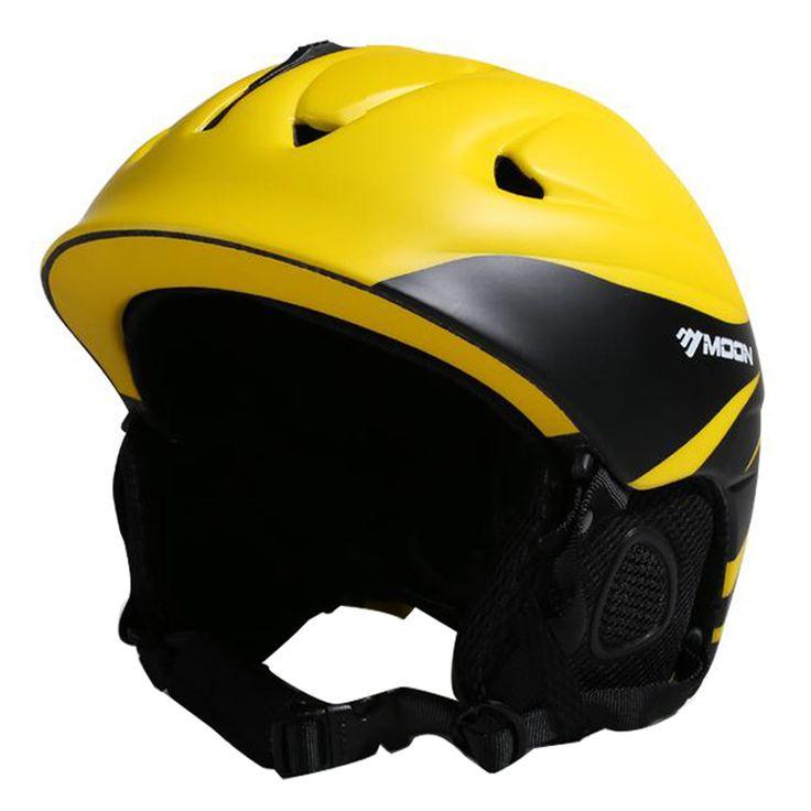 MOON Ultralight Sking Helmet In-mold Ski Helmet 14 Air Vents  Snow Ski Skateboard Snowboard Helmet 52-63CM PC+EPS 5 Colors