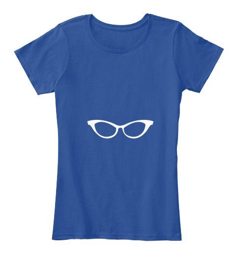 T Shirt Deep Royal  T-Shirt Nữ Front