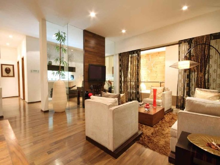 3 BHK Apartment Living Room