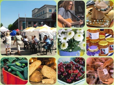 Prince George is lucky enough to have the first year-round farmer's market in BC!  A great place to get your fresh veggies, bread, poultry, pork, beef, and bison.