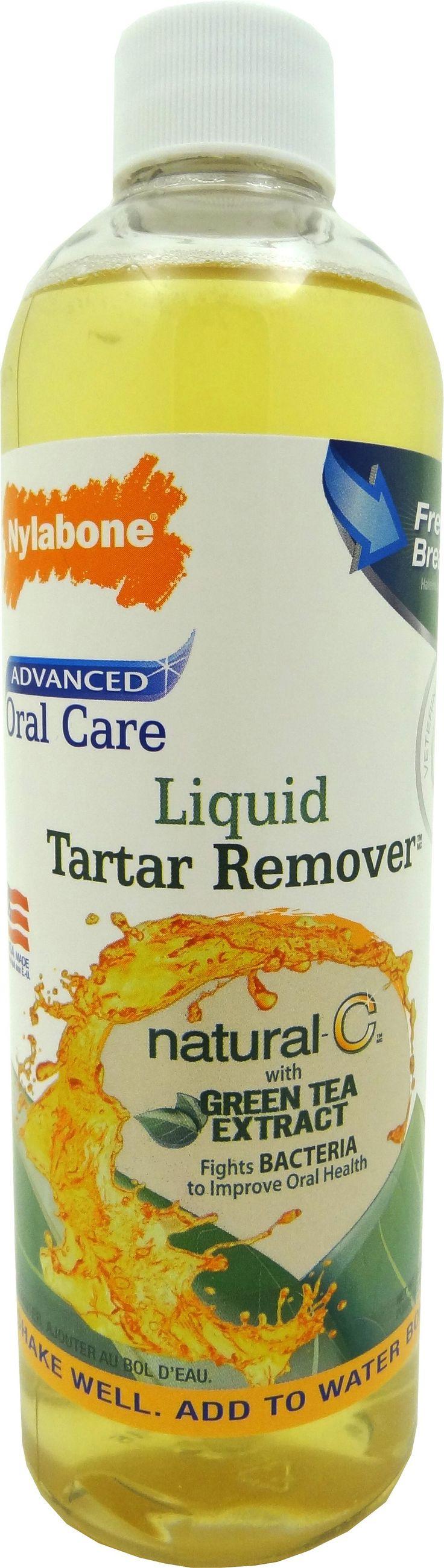 Nylabone Corp (bones) - Advanced Oral Care Natural Liquid Tartar Remover