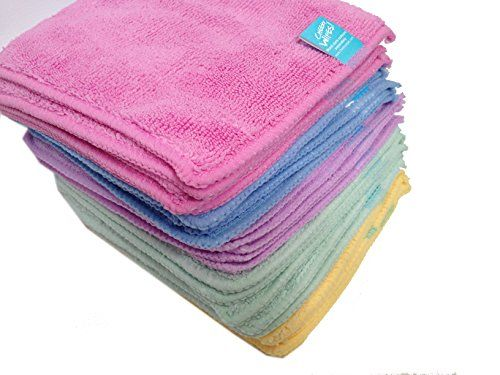 Baby Led Weaning Supplies & Essentials - These cloth wipes are SO soft and wash up easily. Get a nice big pack to keep you going.