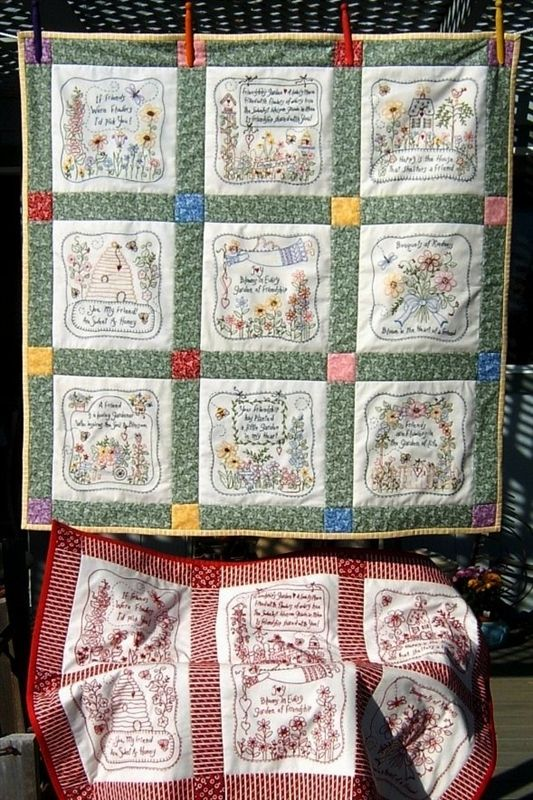 26 Best Images About Friendship Garden Quilts On Pinterest 640 x 480