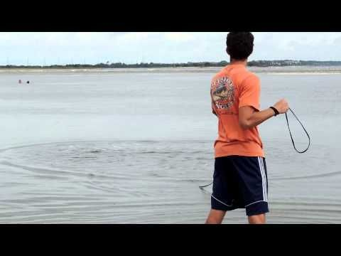 Best Way to Throw a 5+ ft. Cast Net Consistently (Not Using Your Mouth!!) - YouTube