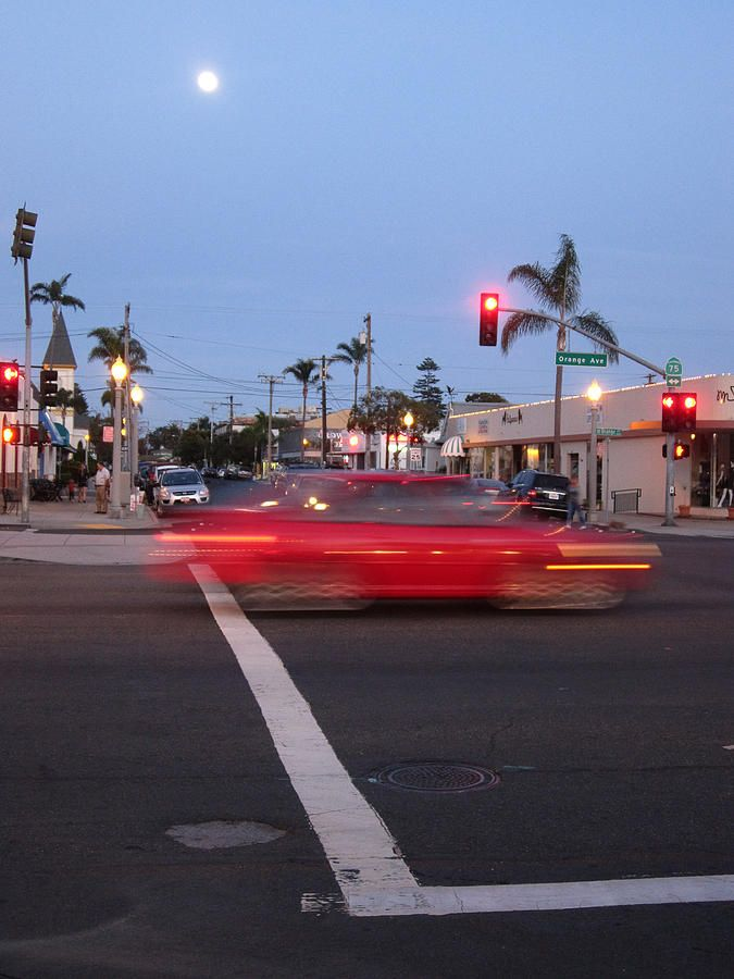 Orange Avenue And Tenth Street  Coronado California Photo by Sharon French at FAA