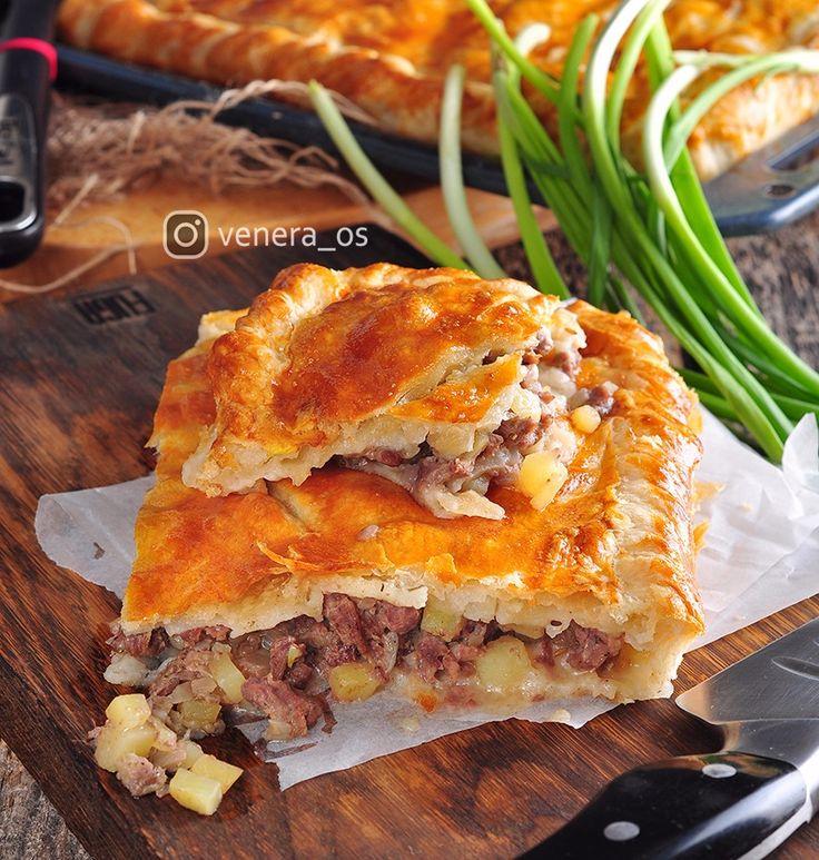 Кобете (Кубэтэ) — традиционный крымско-татарский пирог! - Вкусная пауза