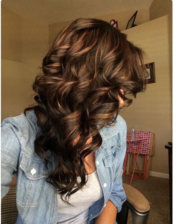Dark Brown Hair With Caramel Highlights Hairstyles