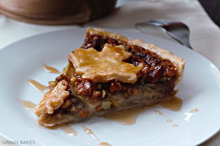 Rustic Maple Apple Walnut Tart | recipes i NEED to try :) | Pinterest