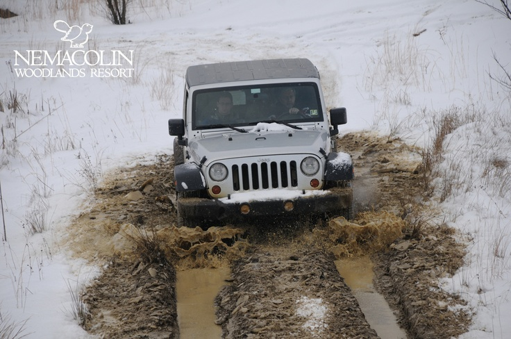 A four-season adventure at Nemacolin. Plan your stay and test your driving skills with our Jeep Off-Road Driving Academy.