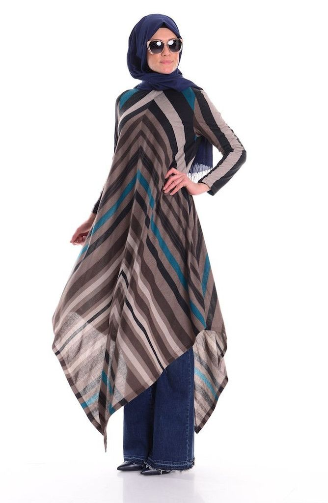 Long Sleeve Shirt Colors: Tile Blue, Tile Bronze, Tile Beige/Orange Size: Large Material: Polyester Cotton, Striped Pattern, Unlined. Tunic is very light and comfortable. Cool in the summer. Works for