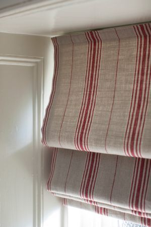 Inchyra -  Linen Ticking and Gingham Fabric Collection -