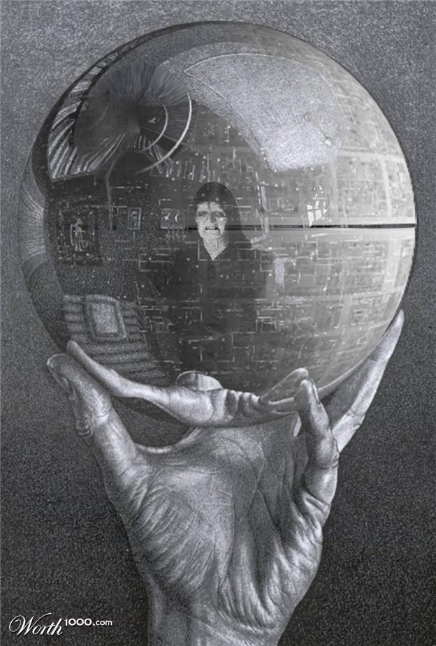 reflection about dead star The death stars from the star wars movies have come to symbolise this concept in pop culture, and i am thankful for that because far more .