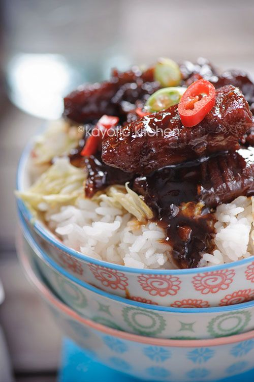 "Babi Ketjap ('Ketjap' is the Dutch spelling for the Indonesian 'Kecap' - the 'c' in Indonesia is pronounced as 'ch') This recipe says it is ""a typically Indonesian dish: pork simmered in a sweet soy sauce"". Technically, it should say a ""Balinese"" dish, as most of Indonesia is non-pork-eating Muslim. Bali–a beautiful small Indonesian island–is Hindu, and the Balinese do eat pork."