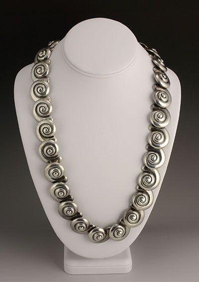 Margot de Taxco.  Like an old love.  Silver jewelry, Taxco.