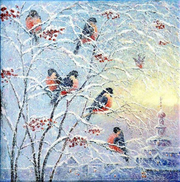 Лоскутов Евгений.Снегири