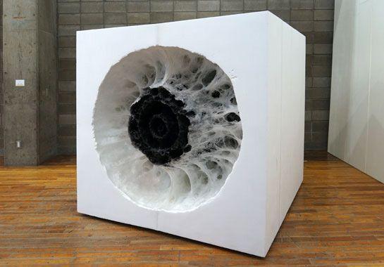 Melted Styrofoam sculptures by Takashi Masubuchi   Art ...
