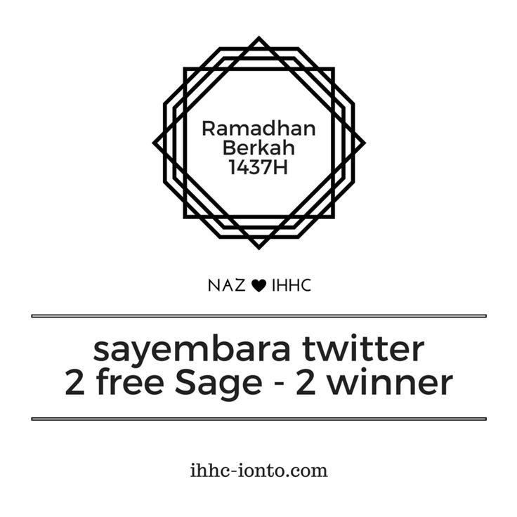 Sayembara Twitter Berhadiah 2 Free Teh Sage Untuk 2 Lucky Hyperhidrosis (Maukah Kotamu Jadi Host Acara Silaturahmi Hyperhidrosis VI)