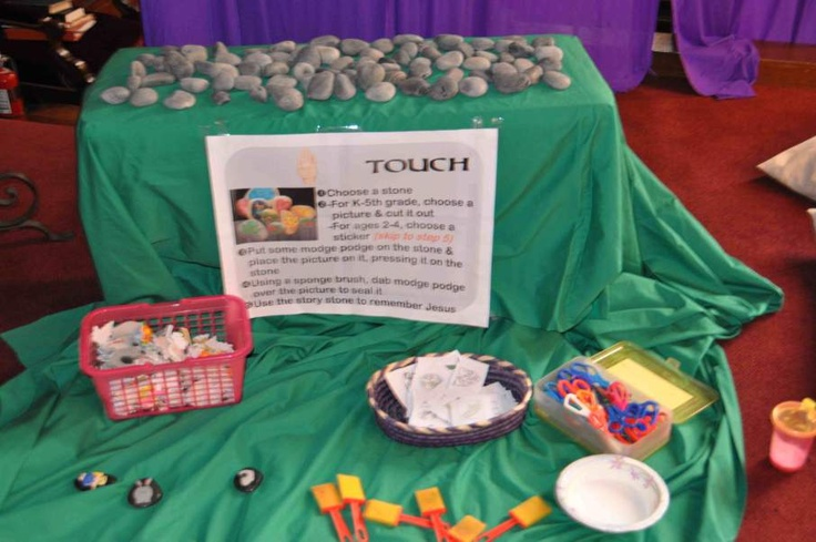 Interactive Prayer Stations on Easter & Empty Tomb | Still Waters