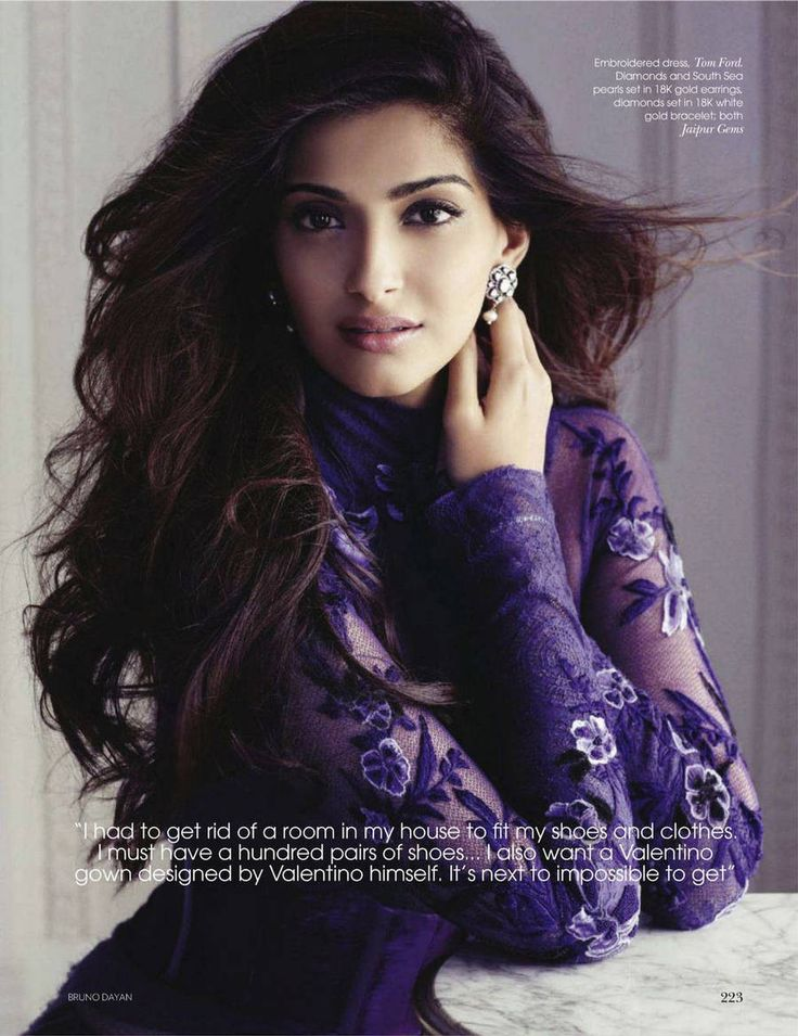 Vogue India. Sonam Kapoor. November 2011.