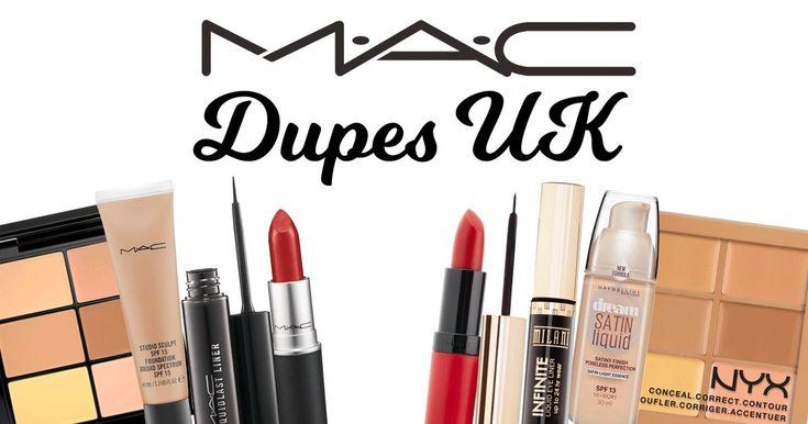 Best MAC Makeup Dupes UK