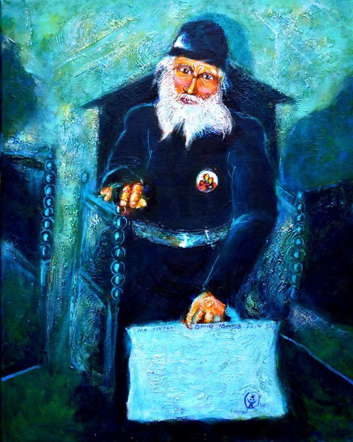 Errant Greek-Orthodox Monk