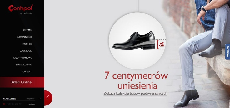 We promote men's shoes with special insole which can give them 7 cm more height.  Check it out on www.conhpol.pl