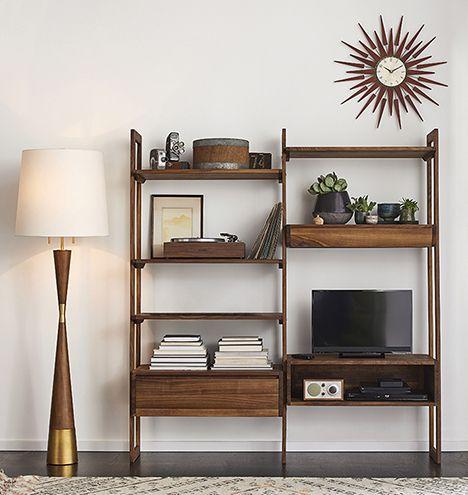 Mid-Century Wood Floor Lamp   Rejuvenation - Best 20+ Wood Floor Lamp Ideas On Pinterest Ceramic Wood Floors