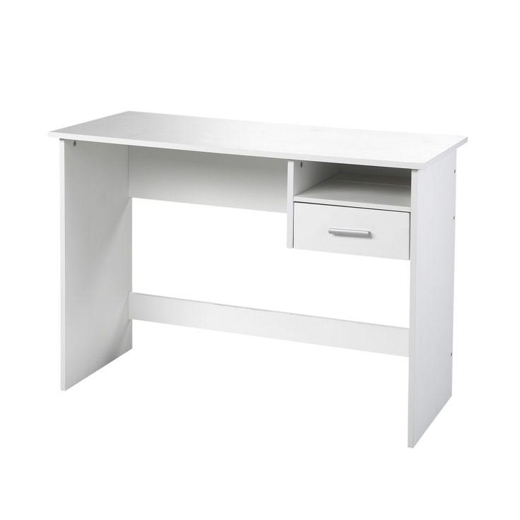 chaise de bureau alinea secrtaire en pin massif certifi blanc sole les bureaux adultes bureaux. Black Bedroom Furniture Sets. Home Design Ideas