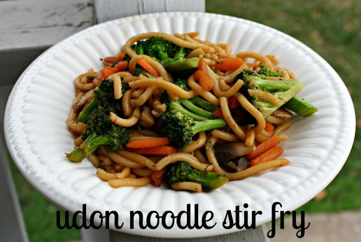 Stir Fry Vegetables and Shirataki noodles | Recipe | Water ...
