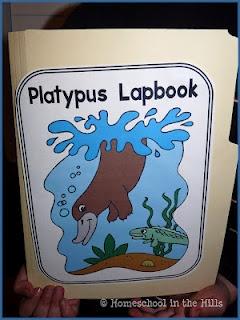 Homeschool in the Hills: Platypus Lapbook