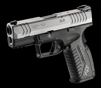 Springfield XDm 3.8 .40 caliber.... So Pretty!! Add to my wishlist please! And can I get it in pink?