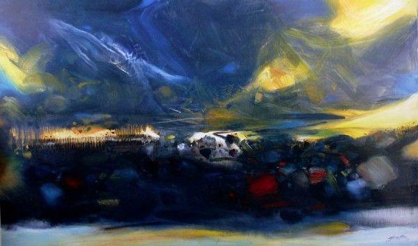 CHU TEN-CHUN http://www.widewalls.ch/artist/chu-teh-chun/ #abstract #art
