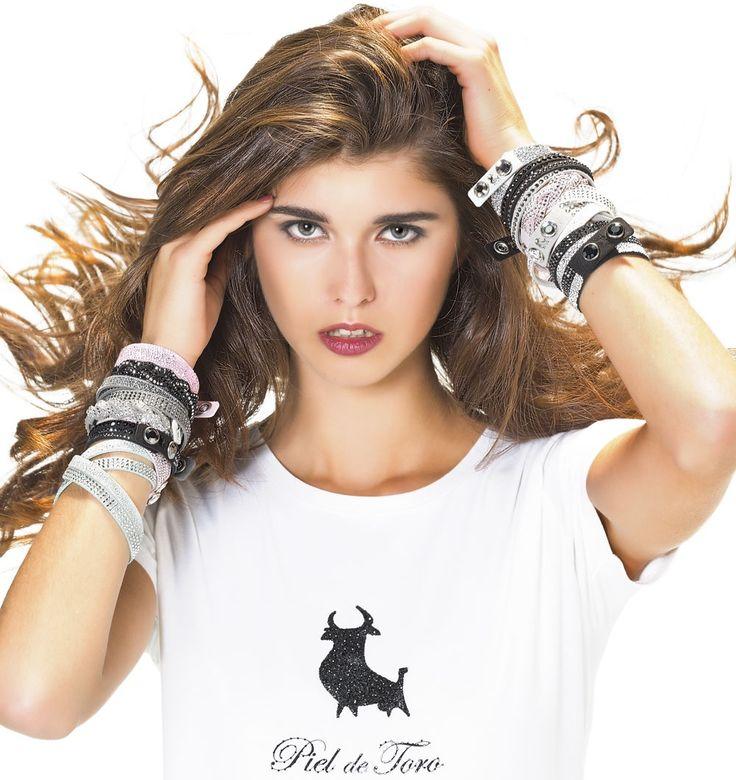 Piel de Toro y Swarovski | Bracelet Design