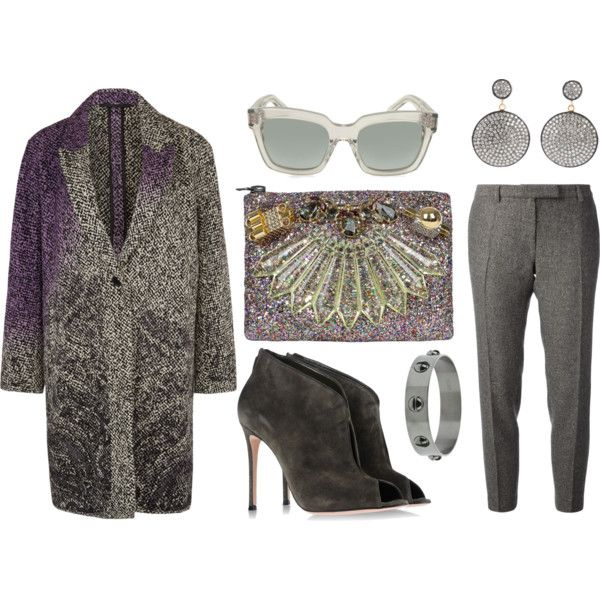 """""""Shades of grey"""" by stockholmmarket on Polyvore"""