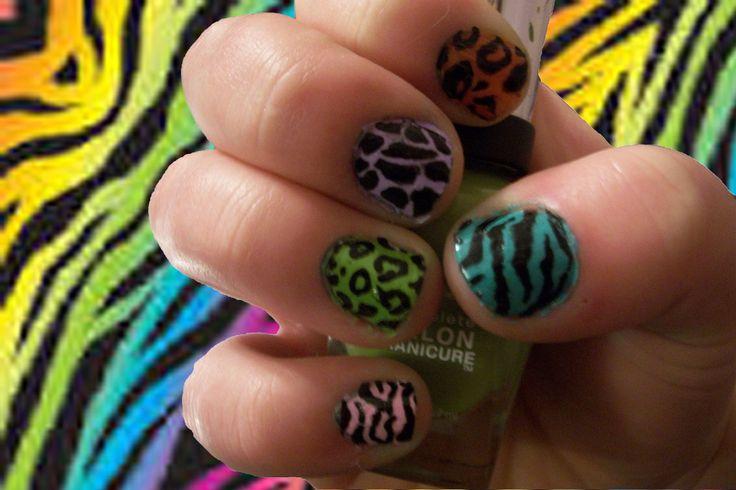 Multicolour animal print